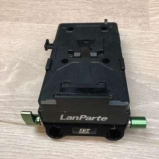 兰帕特单反套件分频供电系统5d2 5D3电池扣板套件 VBP-01索尼V口