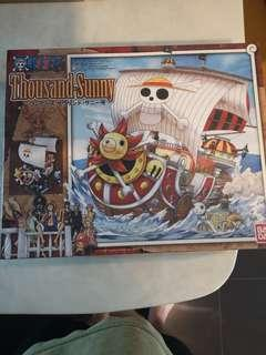 One Piece Thousand Sunny by Bandai