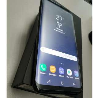 Samsung Galaxy S8 Midnight Black RAM 4GB ROM 64GB MYSET