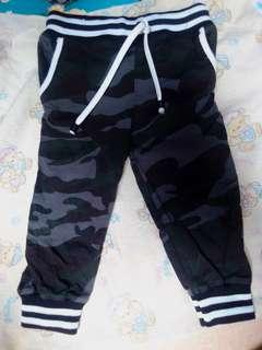Celana jogger baby boy