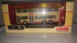 錯盒熱狗巴士73X荃灣(如心廣埸)路線1:76比例