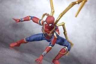 Marvel shf iron spider avengers