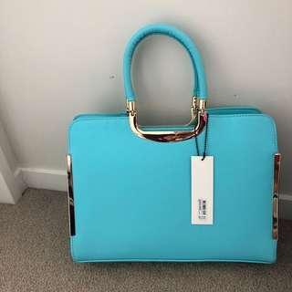 Colette aqua handbag SALE