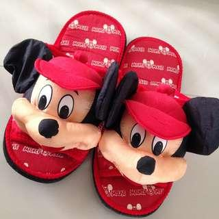 Mickey Mouse Night Slippers