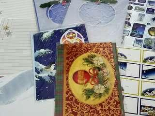 Christmas Cards, Dreamcatcher Decor, Stickers and Notepads
