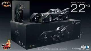 Hot toys Batman Return MMS 293 + Batmobile 1989