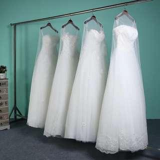 Wedding Gown veil cover