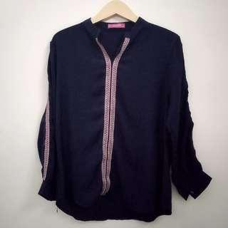 Simply blouse navy