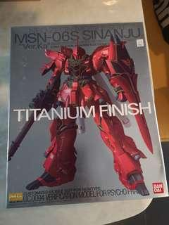 MG Sinanju Ver. Ka Titanium Finish