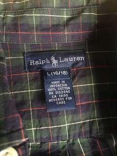 Ralph Lauren men fits a size small to medium