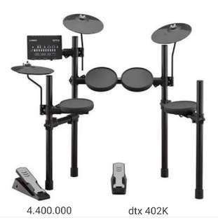 Electric Drum DTX 403K Cash / Credit Free 1x Cicilan Tanpa DP!!