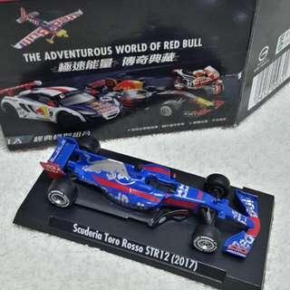 售 台灣 7-11Red Bull 經典模型組合 全新連盒 1級方程式模型賽車