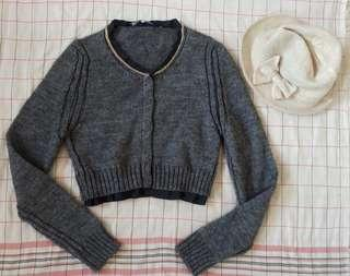 Gray Knit Longsleeves