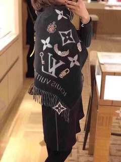 Lv 特别版羊绒围巾 46x191cm 原价9700 特价