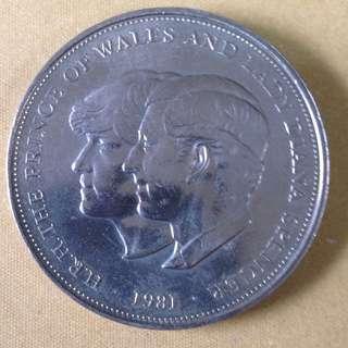1981 GB 25 New pence
