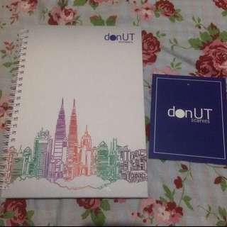 Notebook by donut scarves