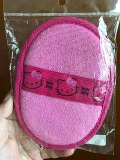 全新 Hello Kitty 冲涼 刷身綿