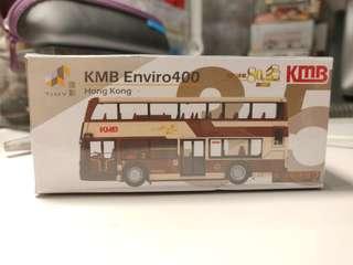 Tiny 35 KMB 九巴 80週年 路線:2 巴士模型