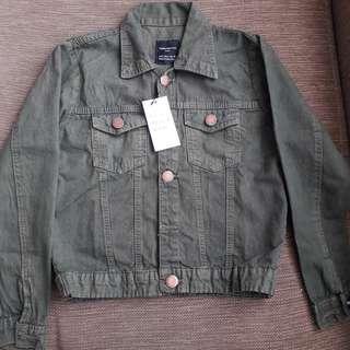 Zara Basic Jacket - Army