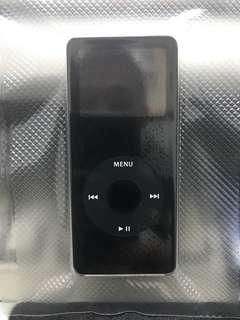 Apple Nano 1st generation Black 2gb. Never open in Box