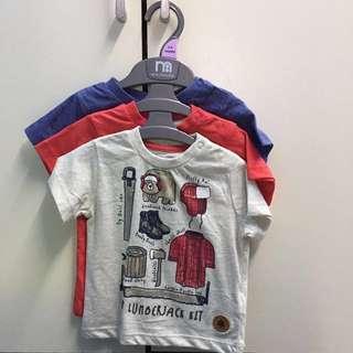 Mothercare Set Of 3 Baby Boy Shirt