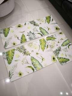 3 pieces set Mat / floor mat / free delivery