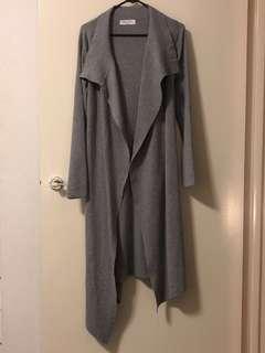 New Grey long cardigan