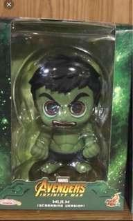 (New) Last piece-Hot Toys Cosbaby Hulk 綠巨人