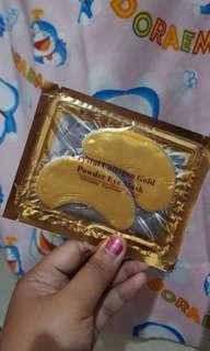 Eyemask Crystal Collagen Gold
