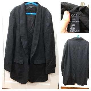 (Used)COS Wool Long Blazer 羊毛長外套