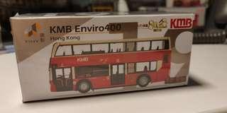 Tiny 19 KMB 九巴 80週年 路線93K 巴士模型