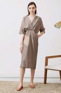 Nikki Brown Dress