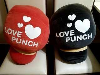 超大型拳套 Boxing Gloves右手 黑 + 紅 兩隻