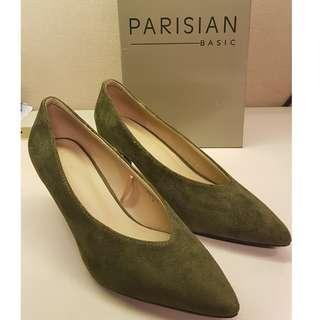 NEW! Parisian Yetti in dark green