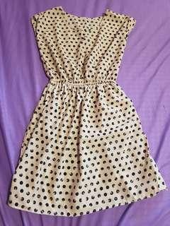 Cap-sleeved Dress