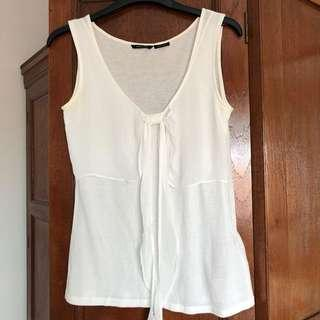 Massimo Dutti white blouse