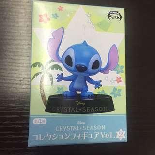 Disney crystal season Stitch 史迪仔 figure