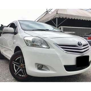 Toyota Vios 1.5 G (A) Full Leather Seats 2010