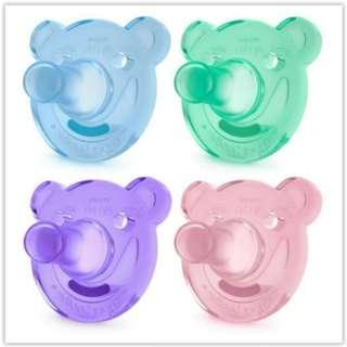 Avent Soothie Pacifiers 0-3 Months