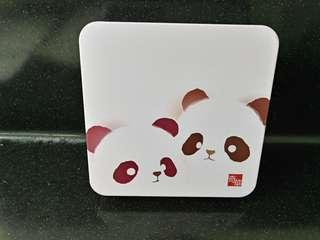 奇華兩口子熊貓曲奇
