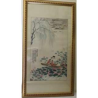 Chinese painting for slae
