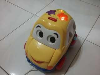 Musical toy car