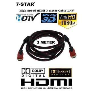 {WHOLESALE}HDMI Cable 1M-30M - (1.5M/3M/5M/10M/15M/20M/25M/30M) VGA Cable & HDMI Cable