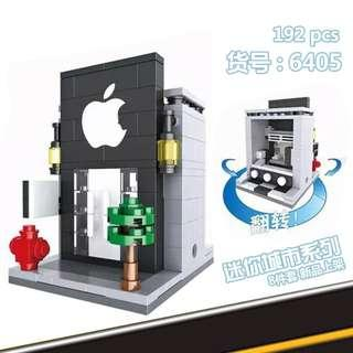 Lego Compatible Nanoblock Blocks Building Collection Kid Game Mcd KFC Apple