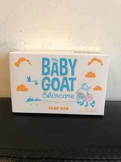 Baby goat soap bar
