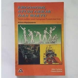 Ergonomi. Studi Gerak Dan Waktu by Sritomo Wignjosoebroto
