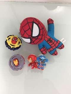 蜘蛛俠🕷️公仔,出奇蛋玩具