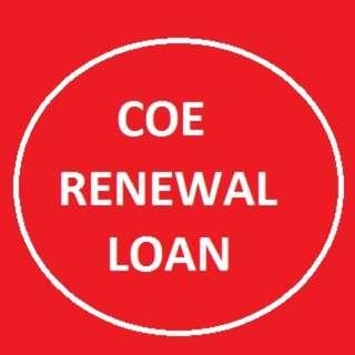 COE RENEWAL LOAN - Fast and Easy Approve - ( Ref : 8732 )