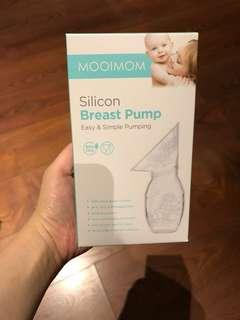 Mooimom Silicone Breast Pump - LIKE NEW