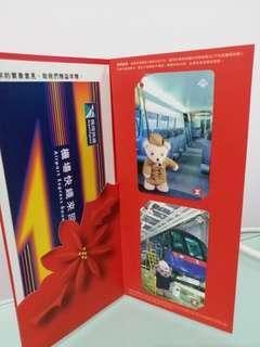 1999年機場快線精英小熊車票一套4張